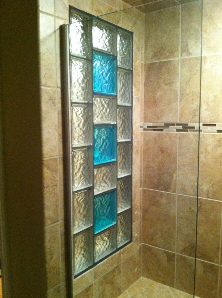 Glass Acrylic Block Tub Shower Window Obscure Privacy Glass Vinyl Framed Shower Window