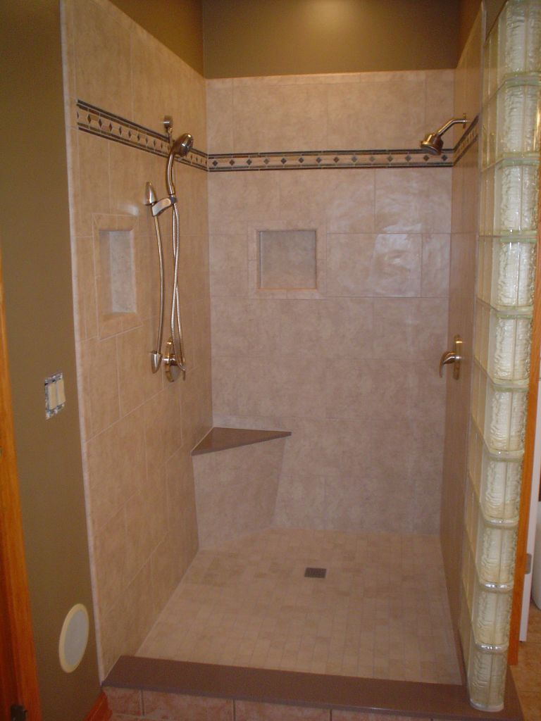 Glass Block Shower Wall  Innovate Building Solutions Blog