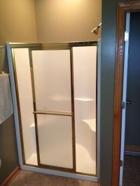 Shower remodel using waterproof wedi shower system & glass ...