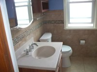 How a Small Outdated Bathroom Was Transformed Into Feeling ...