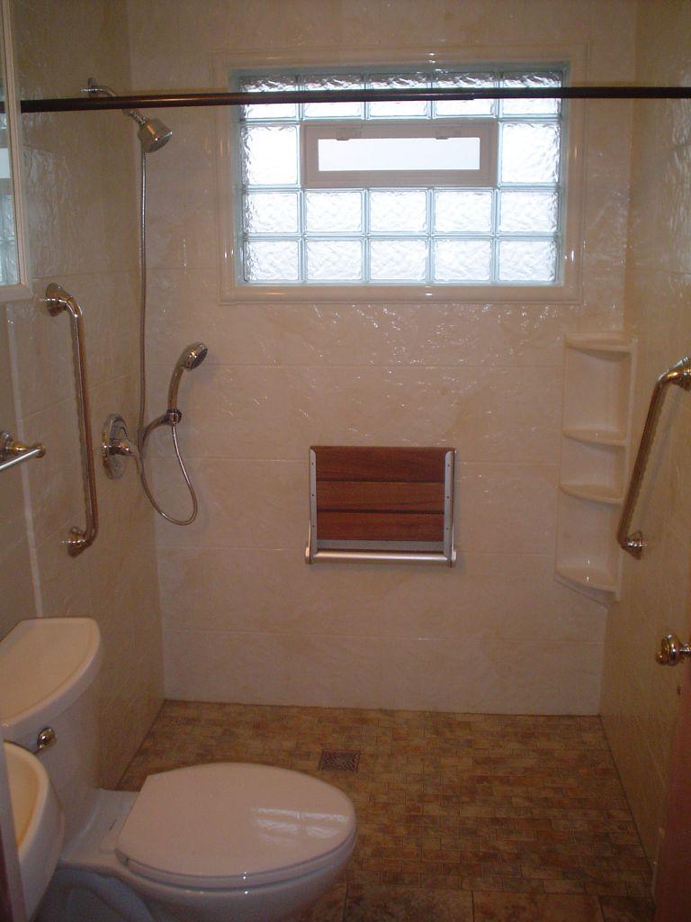 Convert Bathtub To Wheelchair Accessible Shower Cleveland Columbus Ohio
