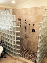 Glass Block Walk In Shower | Innovate Building Solutions ...