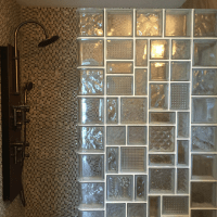 Glass block and glass brick trends  whats hot and whats ...