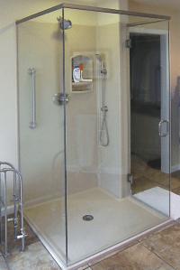 Custom Pre-Cut Bathroom Shower and Tub Wall Panels ...