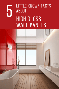 Decorative high gloss acrylic wall panels for showers ...