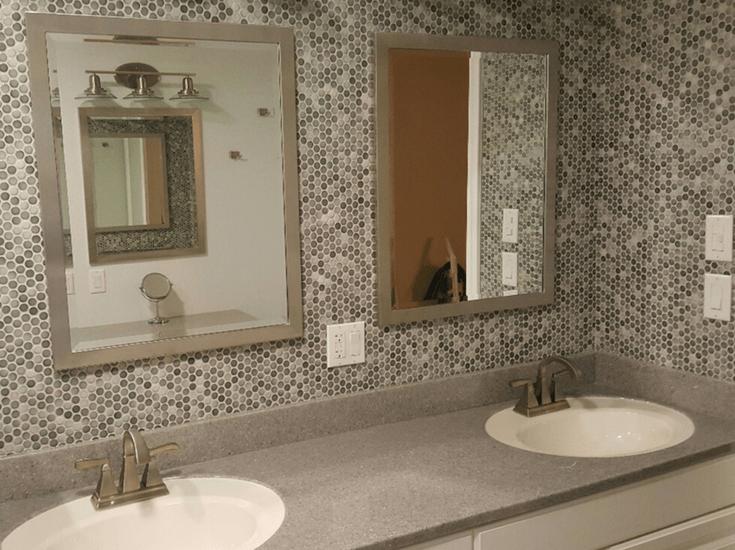solid surface bath vanity countertops