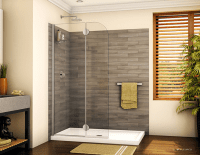 5 cutting edge glass shower door ideas  Nationwide supply ...