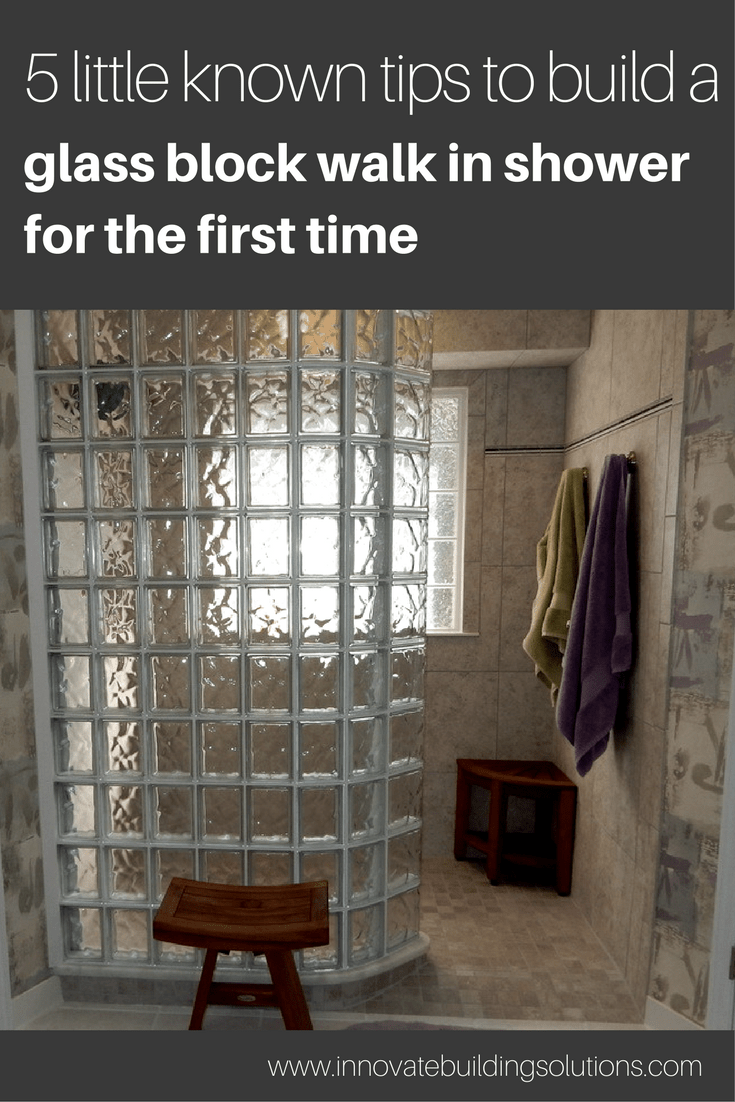 5 Little Known Facts to Build a Glass Block Walk in Shower