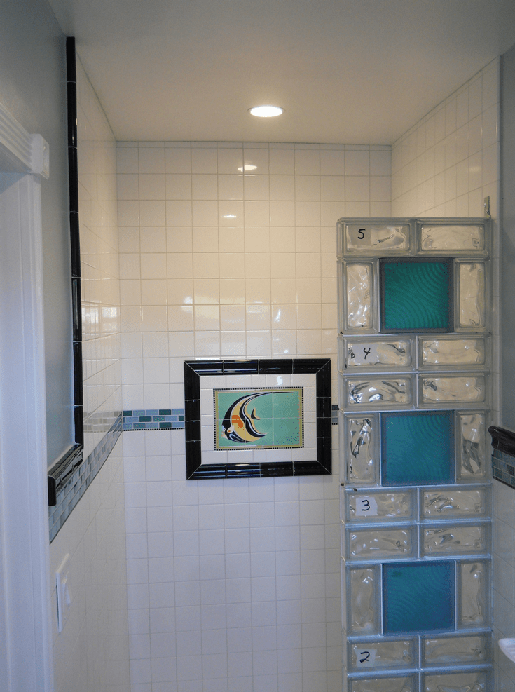 How to Design and Build a Glass Block Shower Wall and Base