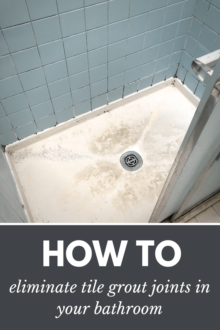 Bathroom Grout How To Eliminate Tile Grout Joints Bathroom And Shower Floor Pan