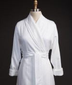 Polyester bathrobe