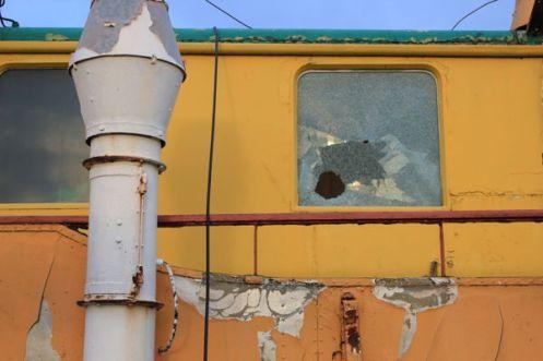 Das Hotelschiff Caprivi`93 im Oktober 2012