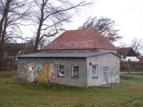 Trafostation in Vitte am 27.11.2011