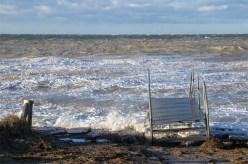 Sturmflut auf Hiddensee