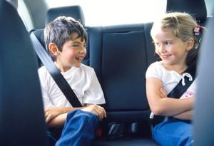 Enfants, voiture