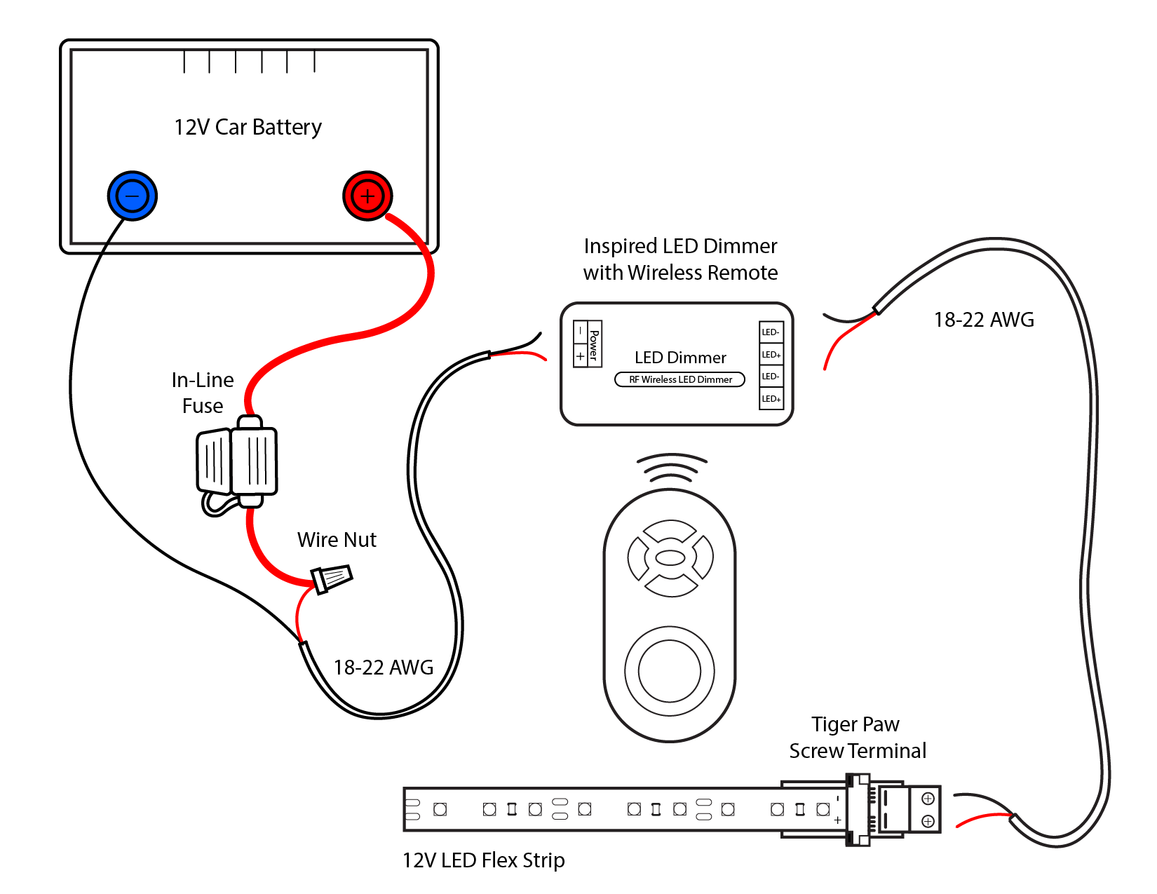 car dimmer switch wiring