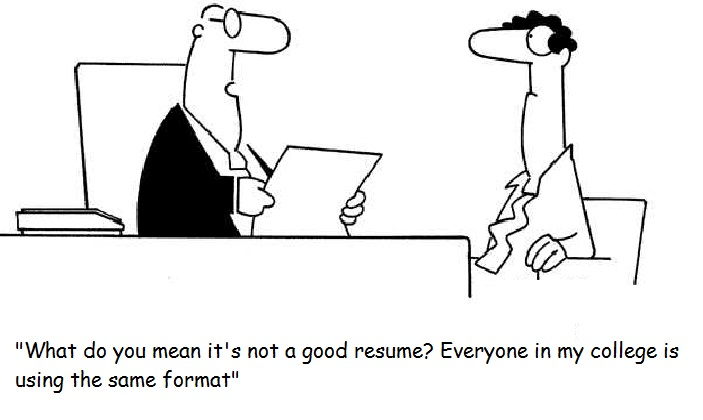 Five Resume blunders you should avoid