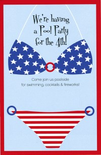 Patriotic Pool Party! July 4th Party Ideas   InTheSwim ...