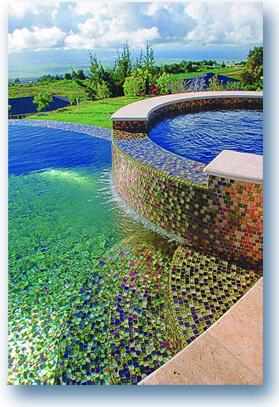 swimming pool mosaic tile ideas