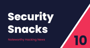 Security Snacks #10 – SolarWinds whirlwind, Malwareless ransomware & Cisco 9.9/10 bug