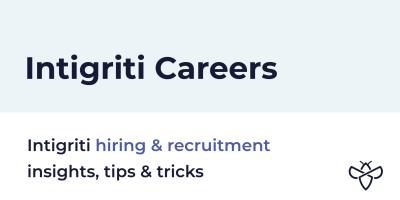 Intigriti careers header