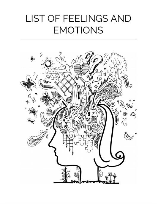 Sep 13, List of human emotions and feelings. Feelings