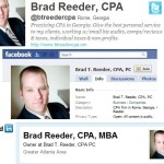 social media savvy examples for accountants
