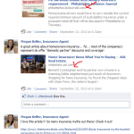 insurance agent marketing with content curation