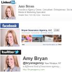 insurance social media savvy examples