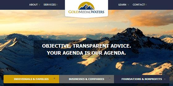 wealth management website
