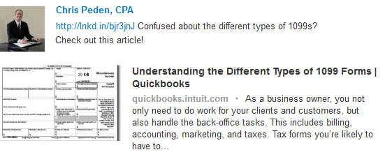 Chris Peden, Certified Public Accountant > Quickbooks site