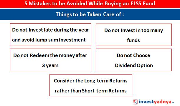 ELSS investment