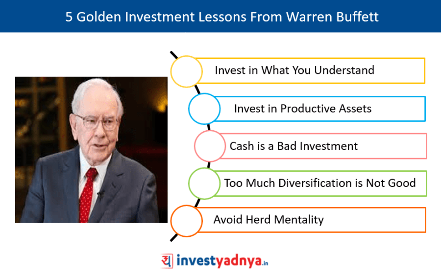 5 Golden Investment Lessons From Warren Buffett