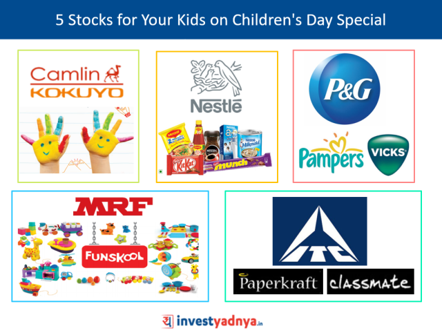 5 Stocks for Your Kids on Children's Day Special