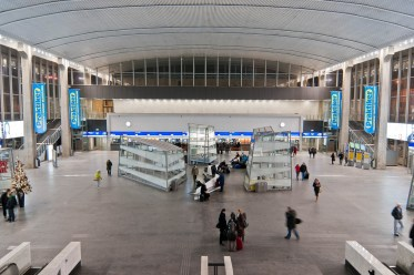 Warsaw Central Station Before