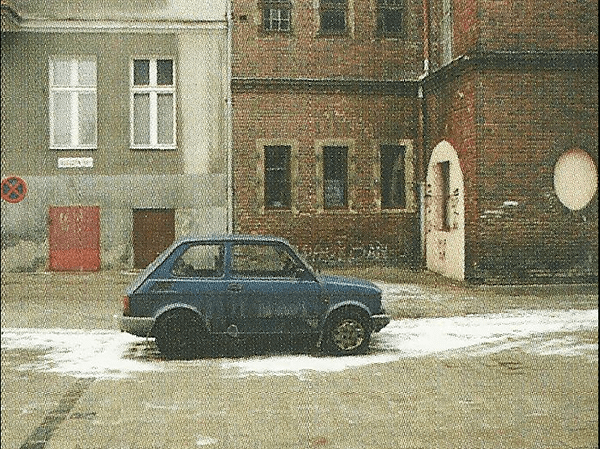 A common sight on the streets in 2002: the Polish FIAT, aka 'Maluch'.