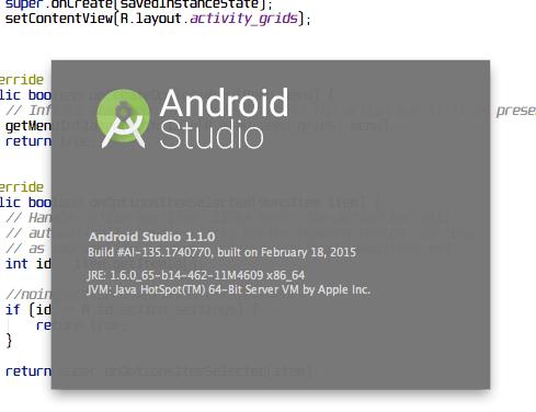 AndroidStudio 1.1.0