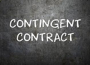 Image result for contingent contract