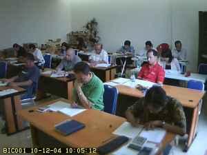 Suasana Ujian di BIC