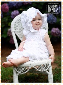 christening crochet baby dresses