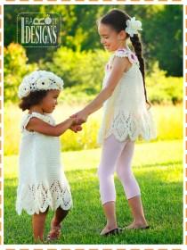 crochet summer dress top and beret