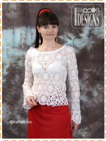hairloom crochet blouse