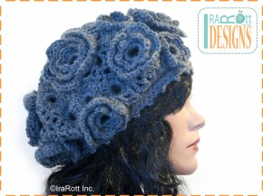 irish crochet beret