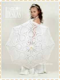 kids lace parasol