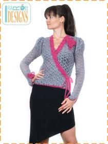 parisian crochet cardigan