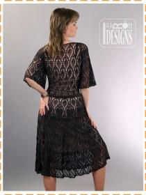 pineapple crochet dress4