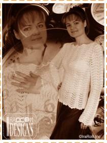 ripple crochet sweater