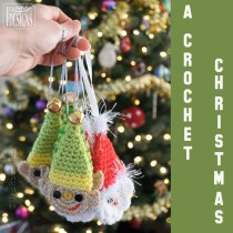 A crochet Christmas with Handmade Ornaments