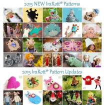 crochet patterns by IraRott - new in 2015
