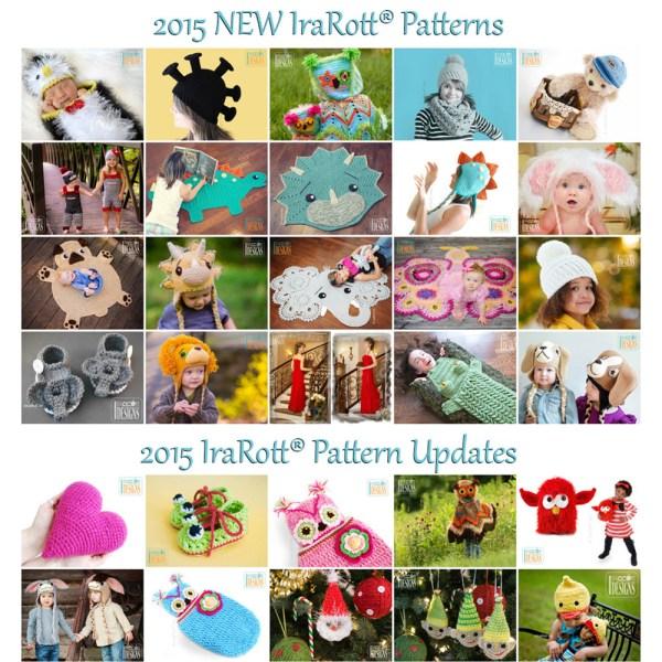 crochet patterns by IraRott - new in 2015